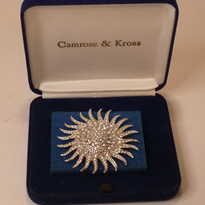 Camrose & Kross Beautiful Sunburst pin